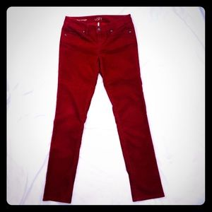LOFT Women's Straight Leg Corduroy Pants